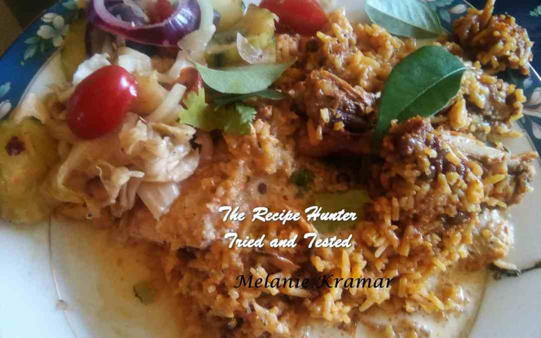 Melanie's Chicken Biryani