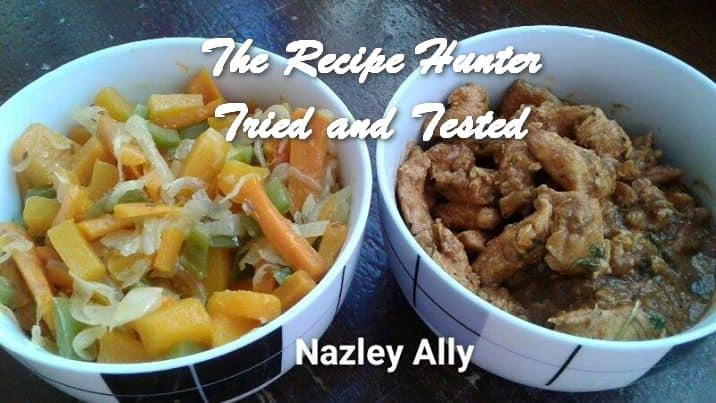 TRH Nazley's Warm Butternut relish and Chicken strips