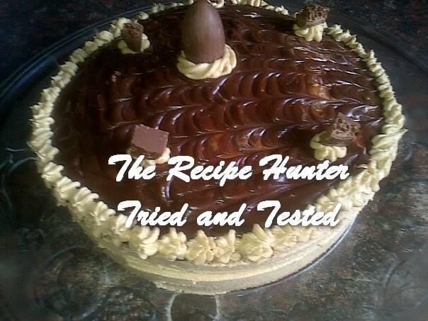 Selvie's Coffee Cream Ganache Cake