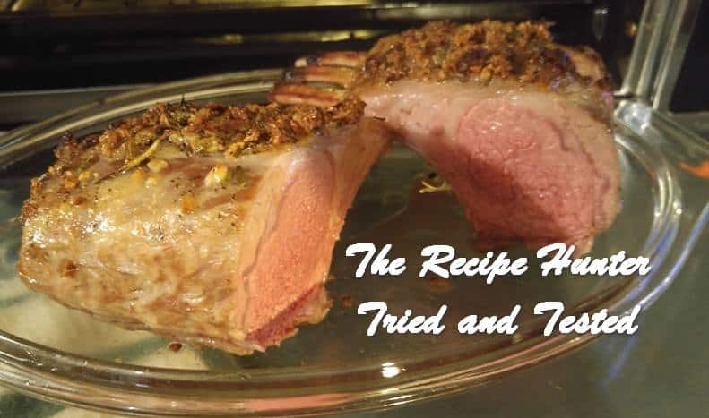 TRH Wally's Garlic Encrusted Rack of Lamb 2