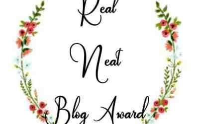 Award Tag: The Real Neat Blogger