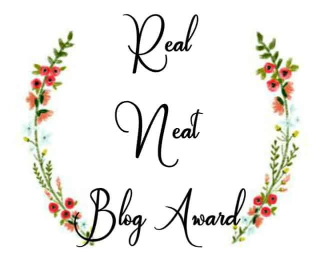 Award Tag: The Real Neat Blogger