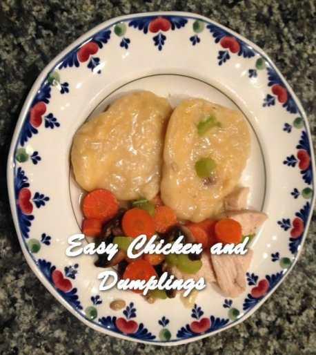 TRH Easy Chicken and Dumplings