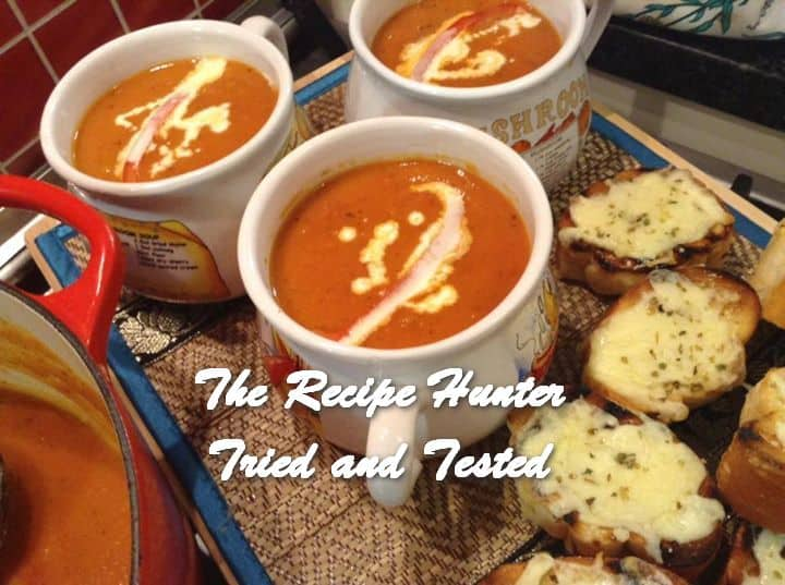 Gail's Creamy Roasted Tomato Basil Soup