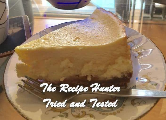 Hannah's Favourite Cheesecake