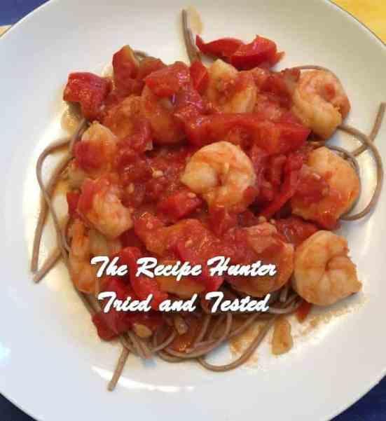 TRH Joyce's Shrimp Meal