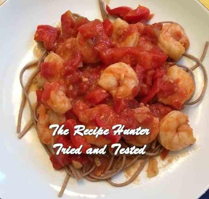 Joyce's Shrimp Meal