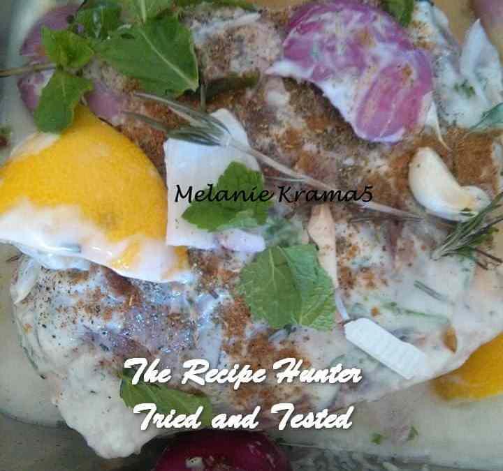 Melanie's Yoghurt and Mint Lamb
