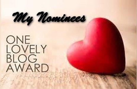 One Lovely Blogger Award 2