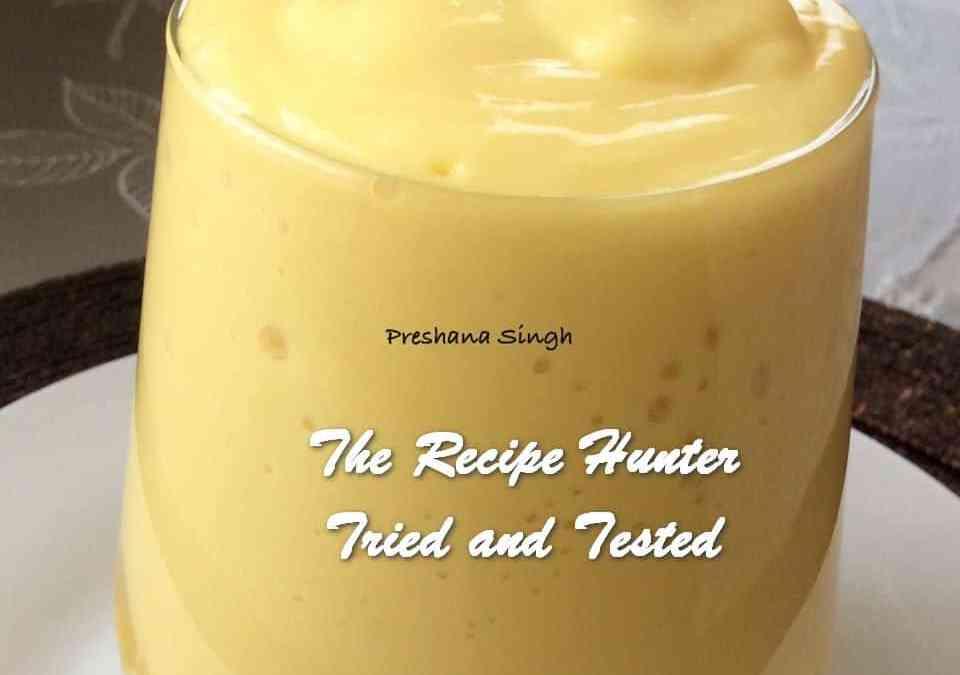 Preshana's Mango Lassi/Smoothie