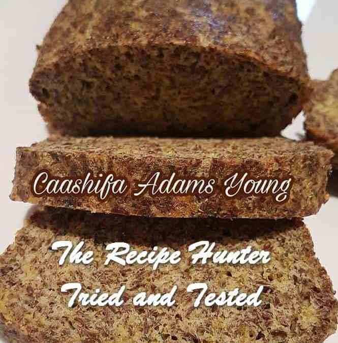 Caashifa's Low Carb Cheddar Loaf