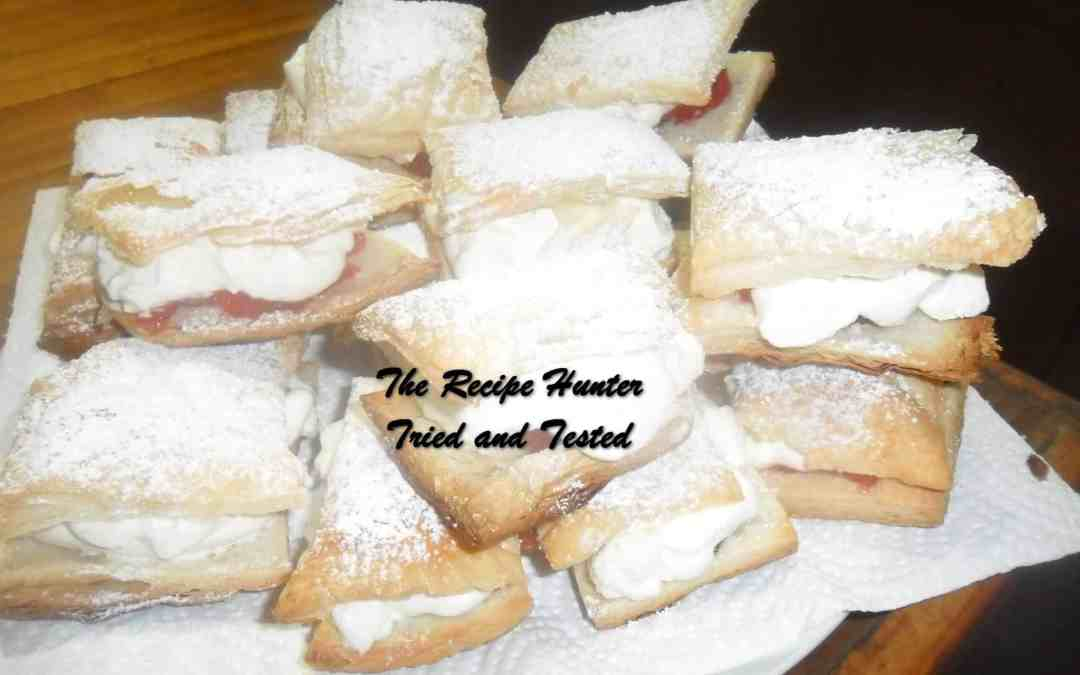 Carol's Fresh Cream Slices