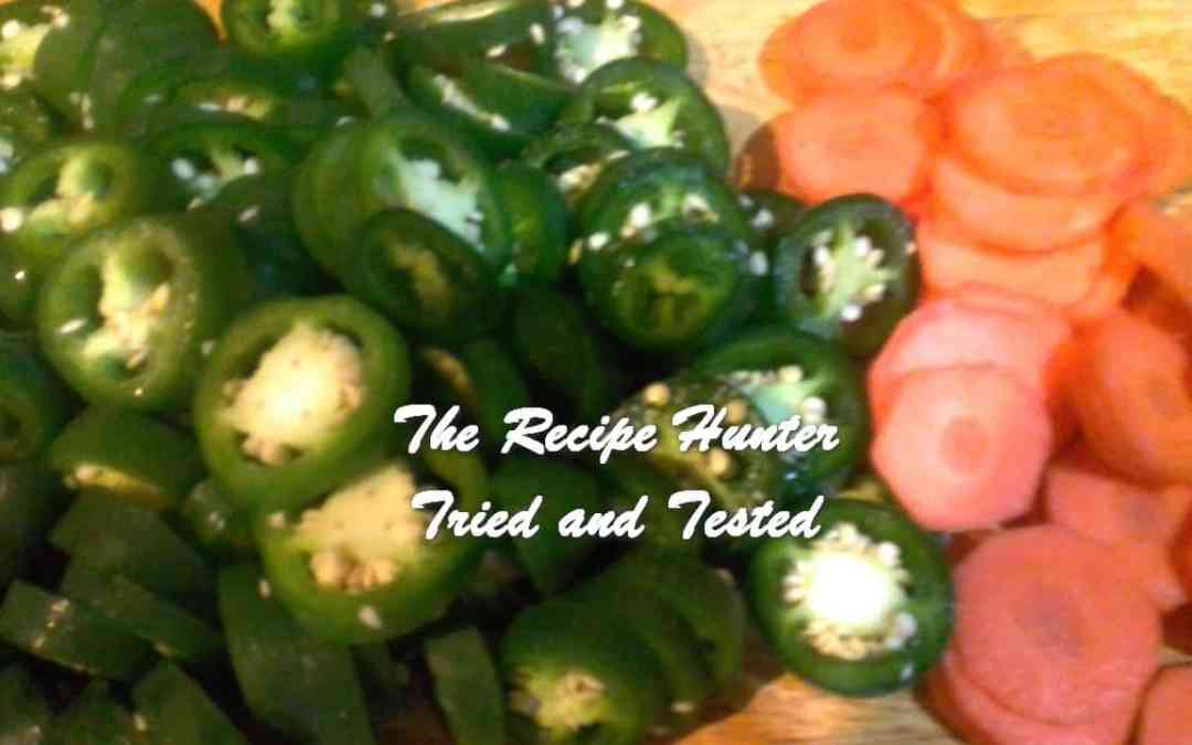 Carol's Pickled Jalapeno Peppers