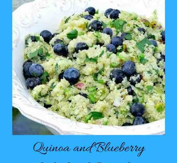 Jennifer's Quinoa and Blueberry Salad with Pistachios