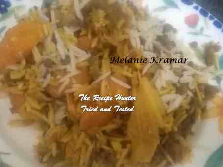 Melanie's Tossed Vegetable Biryani