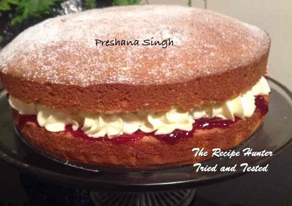 Preshana's Victoria Sandwich Cake