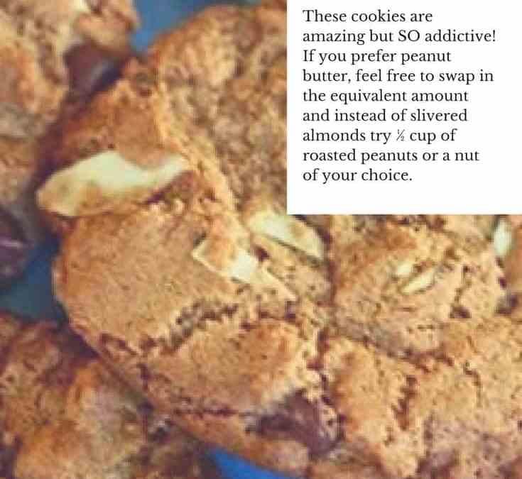 Irene's Almond Butter Cookies