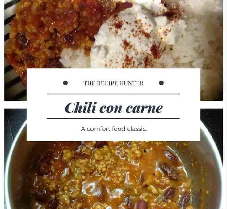 Carol's Chili Con Carne