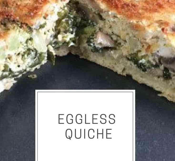 Bobby's Eggless Quiche