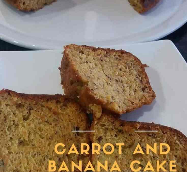 Feriel's Carrot And Banana Cake