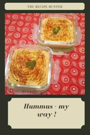 Hummus - my way