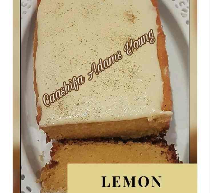 Caashifa's Lemon Pound Cake