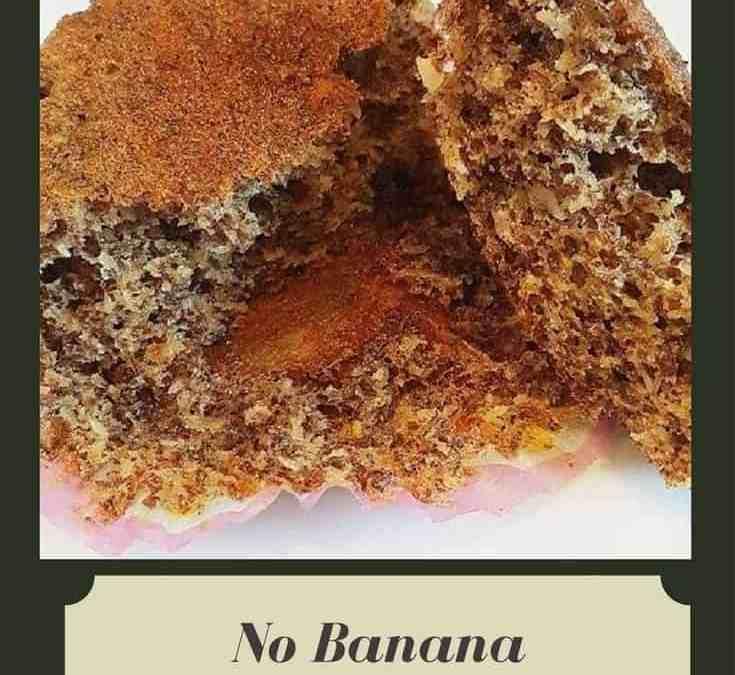 Caashifa's No Banana Muffins