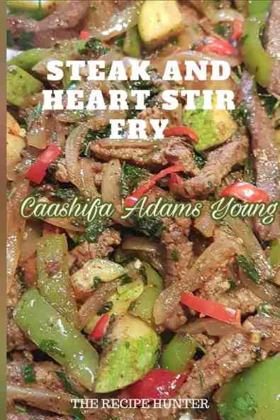 Steak and Heart Stir Fry