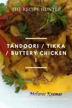 Tandoori Tikka Buttery Chicken