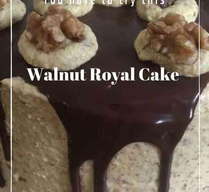 Bobby's Walnut Royal Cake