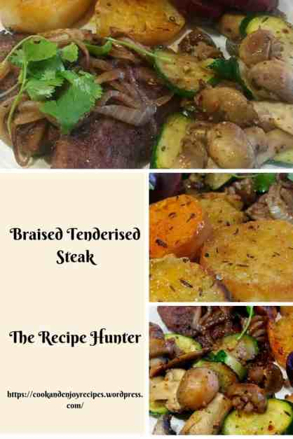 Braised Tenderised Steak