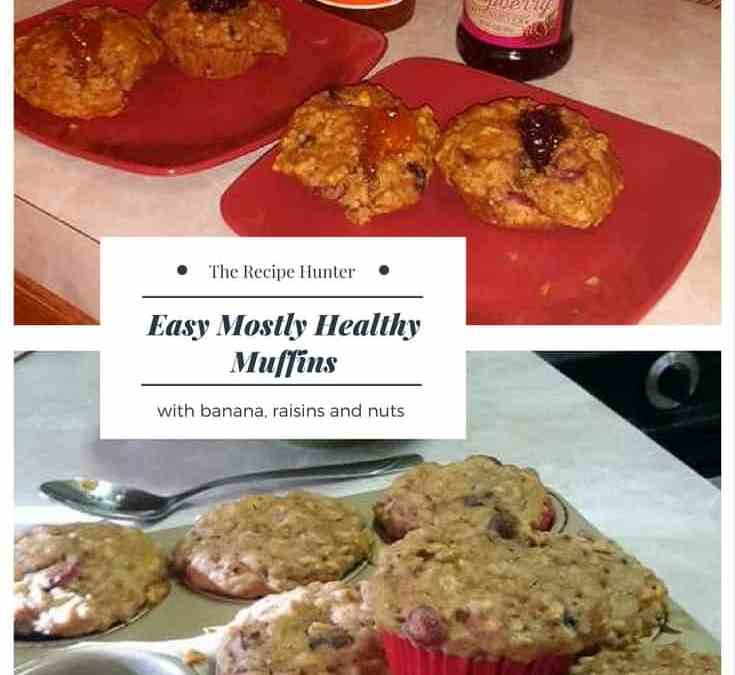 Belinda's Easy Mostly Healthy Muffins