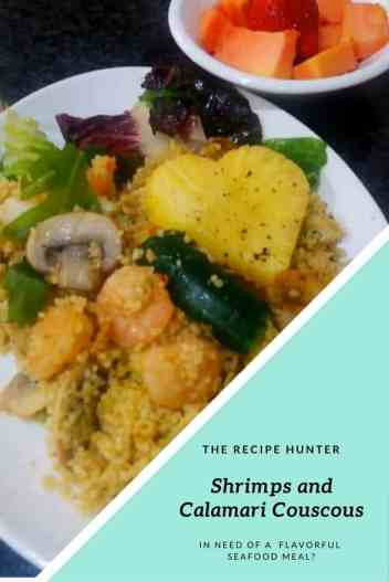 Shrimps and Calamari Couscous