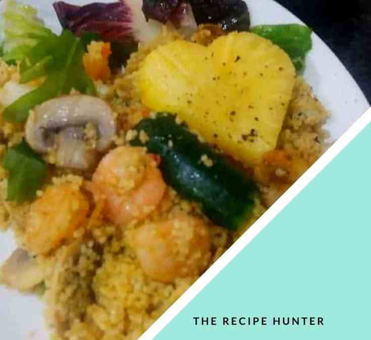 Feriel's Shrimps and Calamari Couscous