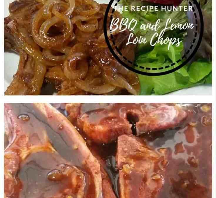 Feriel's BBQ and Lemon Loin Chops