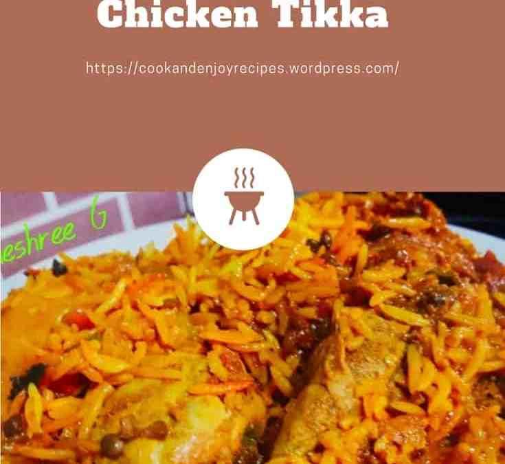 Vineshree's Chicken Tikka