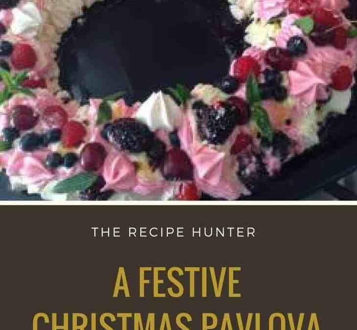 Gail's Festive Christmas Pavlova