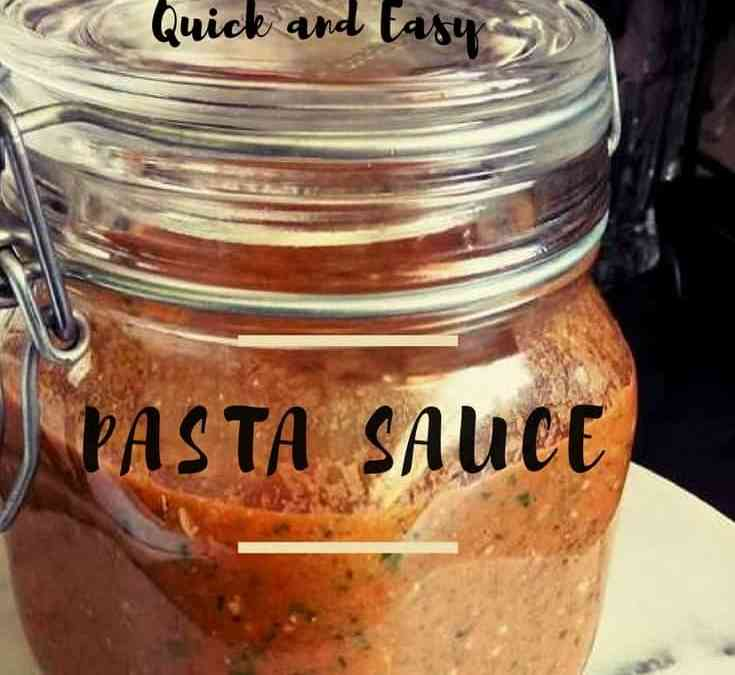 Dee's Quick and Easy Pasta Sauce