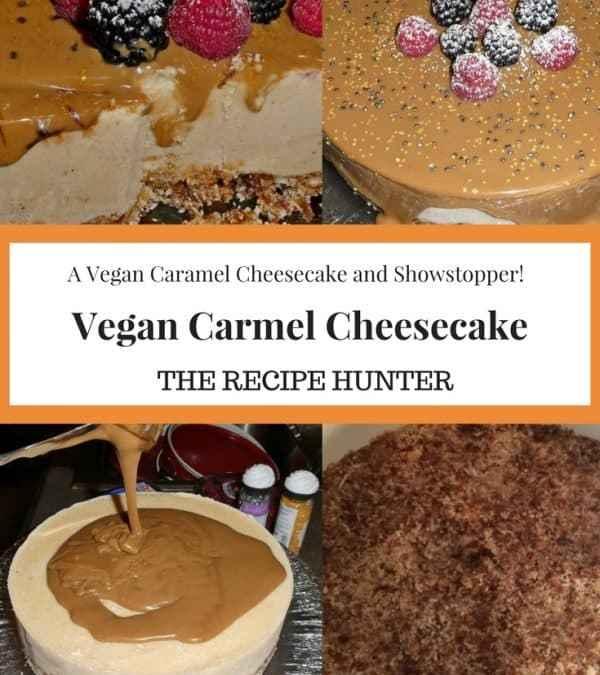 Es's Vegan Caramel Cheesecake