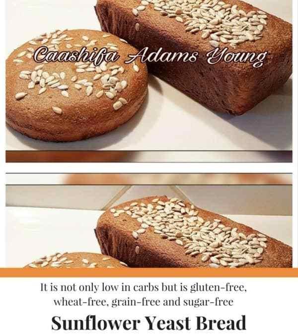 Caashifa's Sunflower Yeast Bread