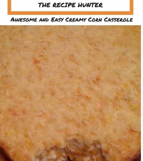 Corlea's Baked Creamy Corn Casserole