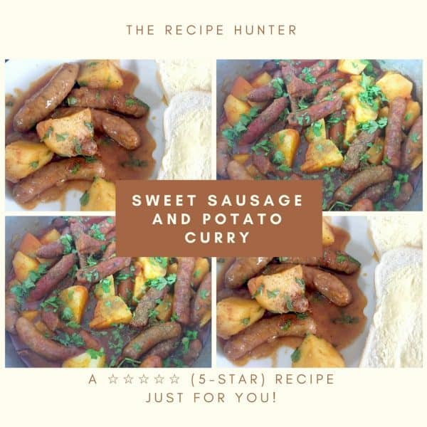 Sweet Sausage and Potato Curry
