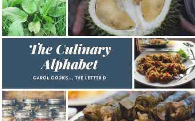The Culinary Alphabet…The Letter D