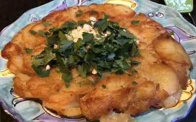 """A """"Gateau de Pommes de Terre"""" – A Parisian Potato Cake"""