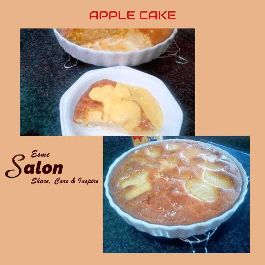 A Delicious Homemade Baked Apple Cake @EsmeSalon @SundayMeetGreet  #shareEScare