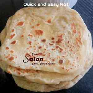 Quick and Easy Roti
