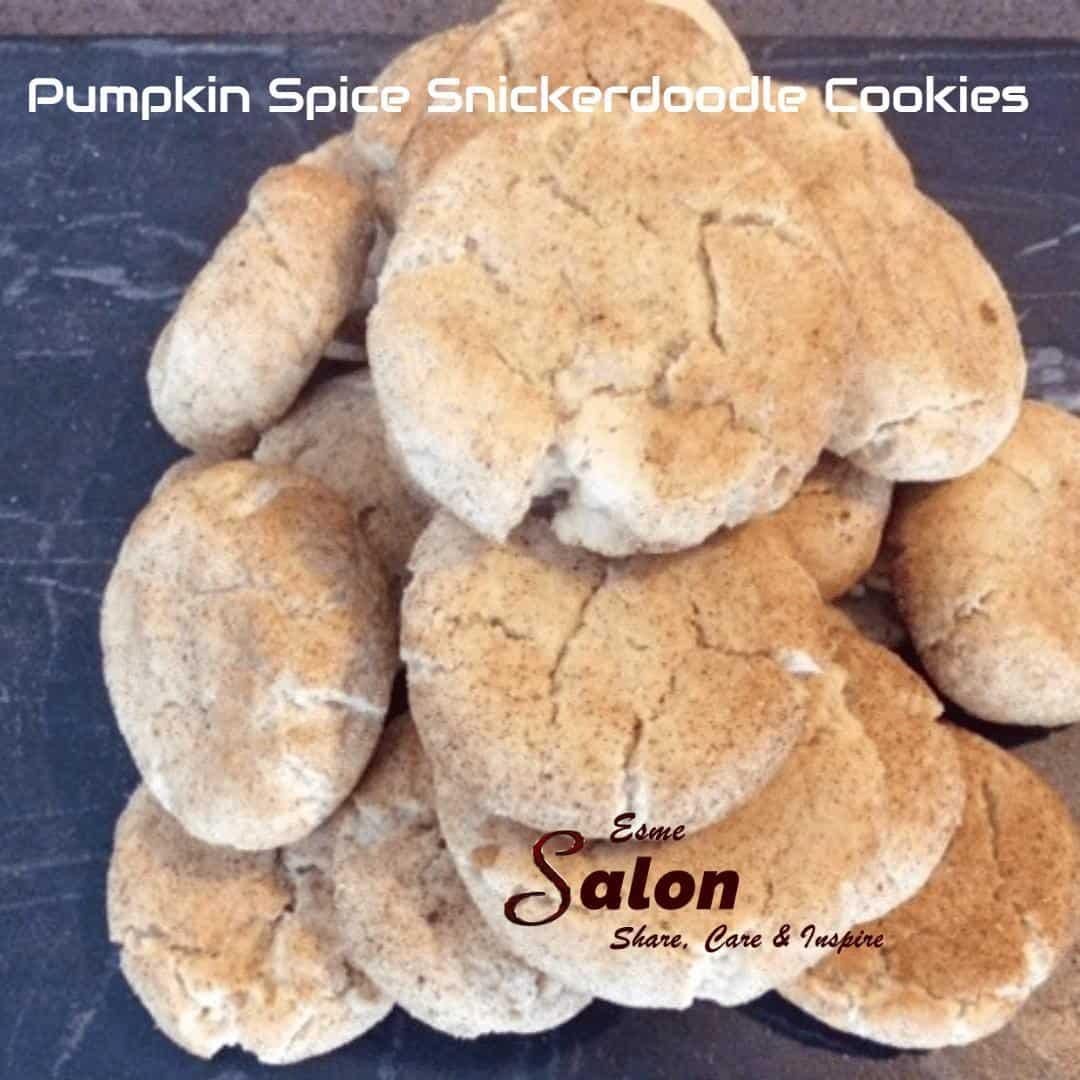 Pumpkin Spice Snickerdoodle Cookie