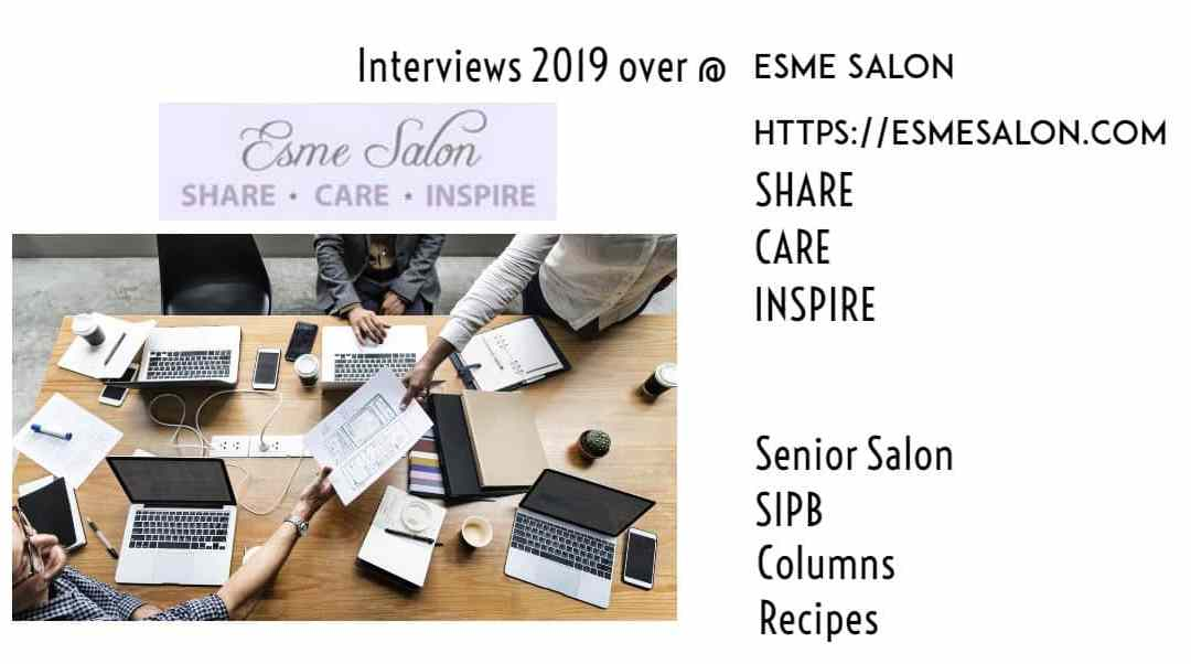 2019 Interview EsmeSalon