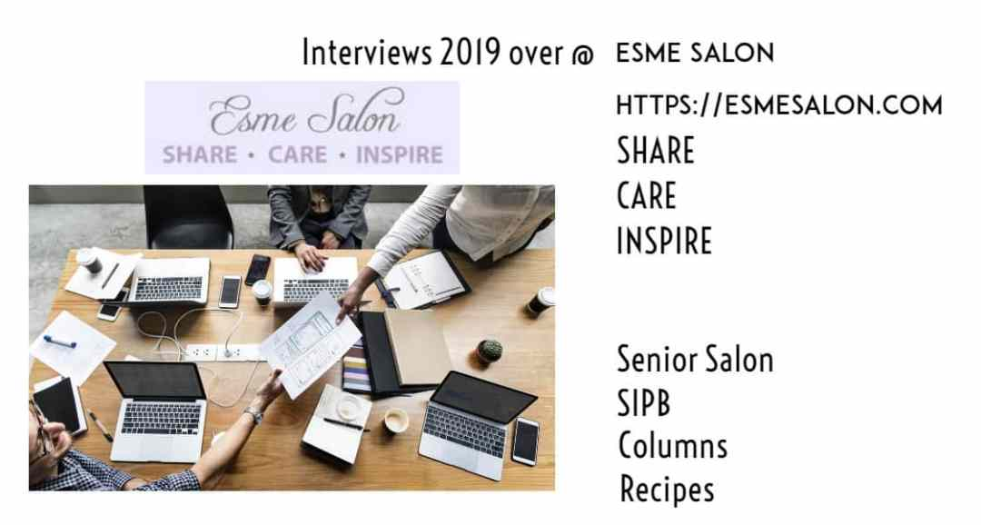 Interested in doing a 2019 Interview EsmeSalon