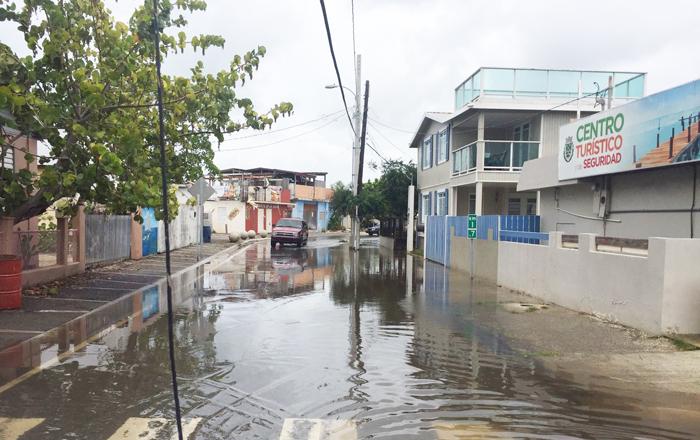 Advertencia de inundaciones para el Sur